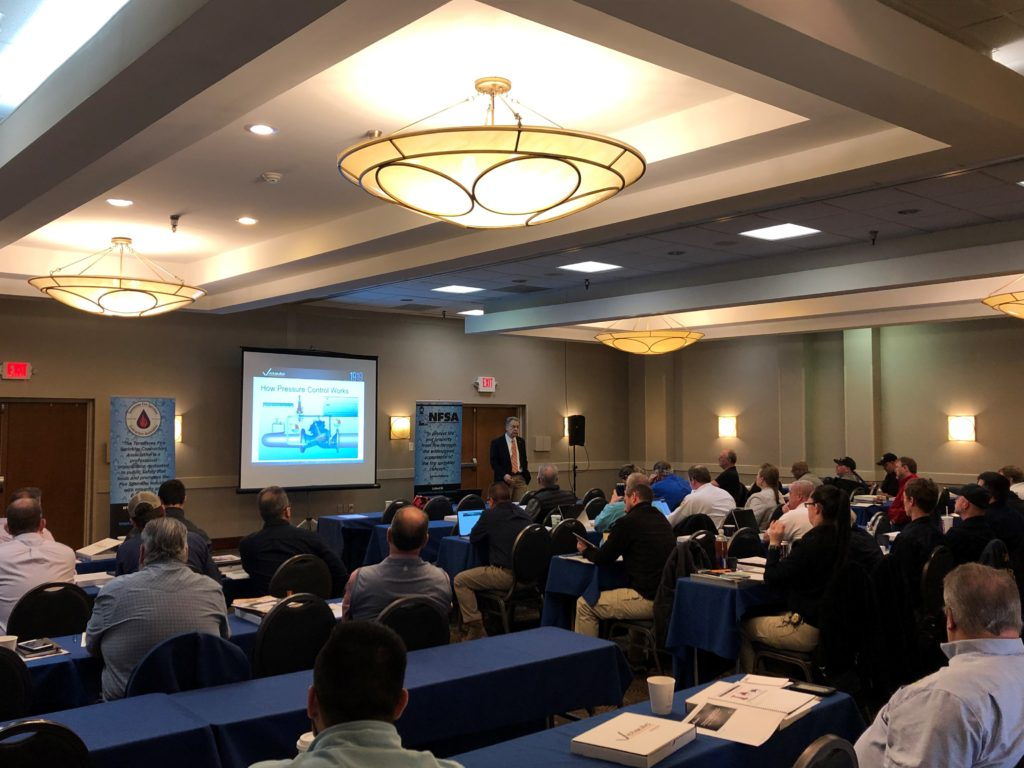 Tennessee Fire Sprinkler Contractors Association Training Session