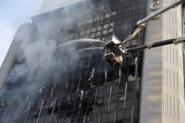 Picture of Fire in High Rise Building