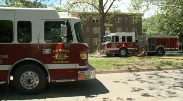 Picture of Des Moines Fire Trucks