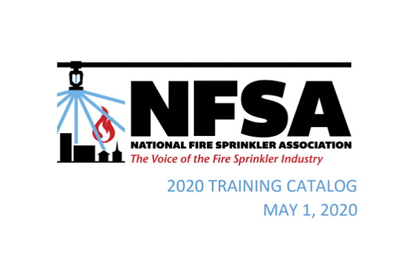 Picture of NFSA 2020 Training Catalog