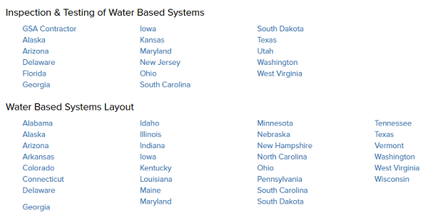 List of States Requiring NICET Certifications